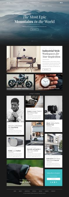 Weekly web design Inspiration for everyone! Introducing Moire Studios a thriving…