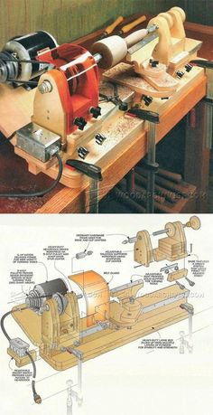 DIY Mini Lathe - Lathe Tips, Jigs and Fixtures | WoodArchivist.com