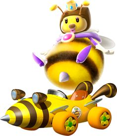 Mario Kart 7 Honey Queen from super mario galaxy
