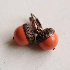 Orange acorns