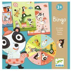 Djeco Spiel Bingo auf Reisen - ein toll aufgelegter Klassiker für Kinder ab 3 Jahren