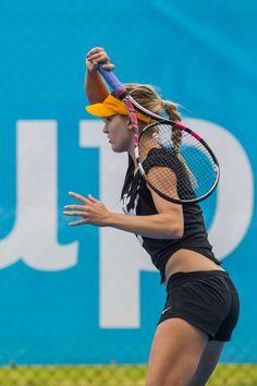 Eugenie Bouchard, Canada #tennis #trainnig