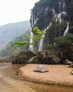 Waterfall in Chiapas, Mexico Photograph by Camping Car, Camping And Hiking, Camping Guide, Camping Outdoors, Outdoor Camping, Backpacking, Wonderful Places, Beautiful Places, Amazing Places