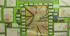 Our Local Area Display - Journeys, maps and addresses. | Nursery garden ideas | Pinterest | Maps, Display and Cambridge