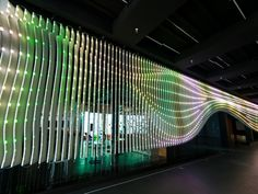 An interactive architectural media installation in Salt Lake City, Utah, is using lights to communicate environmental changes from around the world.