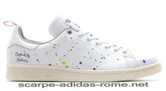 lowest price 190e5 8cb7e Uomo Donna Adidas BW Stan Smith Scarpe Running Bianche Chalk Running Bianche  D65674