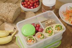 In Jeroen's brooddoos zaten vroeger gewone boterhammen. Daar is niks mis… Quinoa Sushi, Brunch, Creative Food, Other Recipes, Kids Meals, Healthy Life, Meal Prep, Good Food, Lunch Box