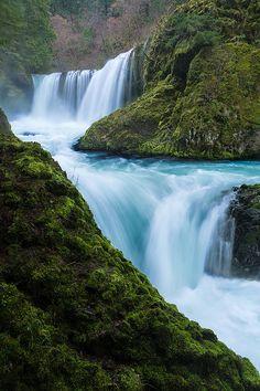 Spirit Falls - Columbia River Gorge, Washington