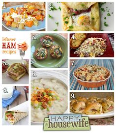 Leftover Ham Recipes | The Happy Housewife