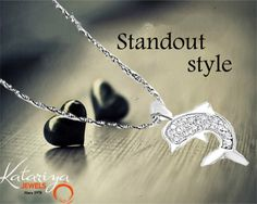 Eye-catching Dolphin Silver Pendant  Buy Now :http://buff.ly/1NUmoQW COD Option Available With Free Shipping In India