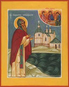 St. Euphrosynus of Blue-Jay Lake Orthodox icon