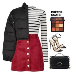 """""""Untitled #564"""" by abbes03 ❤ liked on Polyvore featuring Miss Selfridge, Boohoo, 3.1 Phillip Lim, Sole Society, Gianvito Rossi and Huda Beauty"""