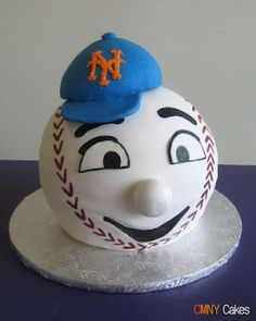 Mets Cake SO Making This Soon Ny New York