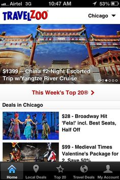 Product 360: Travelzoo Launches Refreshed iPhone App