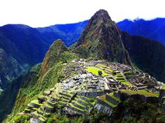 Wonderful Places Which are Considered World Heritage ~ Machu Picchu, Peru