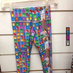 Would You Wear These Candy Crush leggings? No, thy would frustrate the shit out of me. Candy Crush Cakes, Candy Crush Saga, No Way Girl, Candy Crush Cheats, Candy Quotes, Nerd Herd, Fashion Fail, All Episodes, Friend Birthday