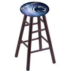 Penn State Nittany Lions Swivel Bar Stool w/ Dark Cherry Maple Base