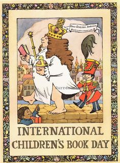 International Children's Book Day, Maurice Sendak-style!