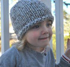 Favorite Toddler Hat | AllFreeKnitting.com