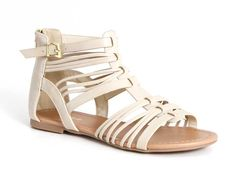 Soda Shoes Matteo Gladiator Sandals for Women in Sand