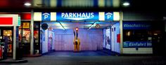 Parkhaus Esso Tankstelle St Pauli Kiez Reeperbahn Hamburg