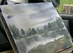 How to Paint Water Reflections