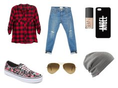 Untitled #1 by alexandragabriela2 on Polyvore featuring polyvore, fashion, style, Frame Denim, Vans, Ray-Ban and NARS Cosmetics