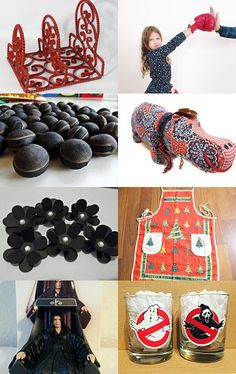 Red and Black, Epsteam by Wendy on Etsy--Pinned with TreasuryPin.com