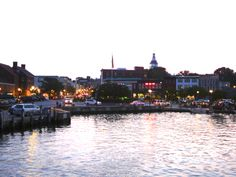 Annapolis Evening ~Ego Alley