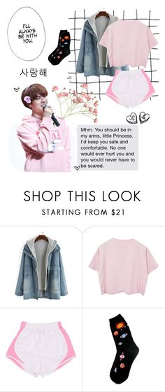"""""""👟✨🌸"""" by ahgase-boi ❤ liked on Polyvore featuring Foot Traffic"""