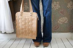 Handbag Näver Large