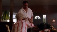 "Burn Notice 3x12 ""Noble Causes"" - Michael Westen (Jeffrey Donovan), Sam Axe (Bruce Campbell) & Madeline Westen (Sharon Gless)"