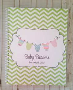 Pregnancy journal expecting mom gift by InvitingStyleDesigns