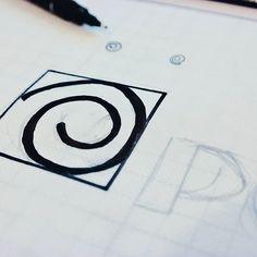 Work in progress…. Nu logo !  #logo #handmade #typography #typographyinspired  #behance  #designlobby  #design_father  #thedesigntip   (στην τοποθεσία Sowl Creative Studio)