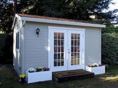Serving the SF Bay Area – specializing in backyard sheds and shed studios – ideal for home & garden storage. Wood shed, garden shed, storage shed. Shed Office, Backyard Office, Outdoor Office, Backyard Studio, Backyard Sheds, Garden Sheds, Backyard Retreat, Studio Fitness, Garden Storage Shed