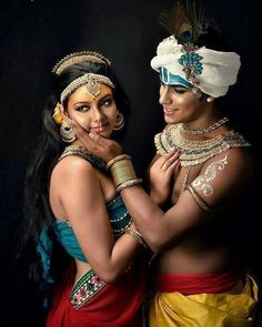 Radha Krishna Love is unmatched 🙏👌 Radha Krishna Wallpaper, Radha Krishna Images, Radha Krishna Love, Lord Krishna, Photography Women, Portrait Photography, Indian Classical Dance, Krishna Painting, Indian Art Paintings
