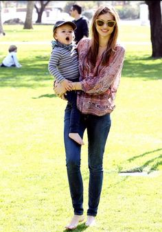 Miranda Kerr. The cutest mommy style ever