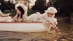A private lake equipped with a boat is exactly what I'm lacking. (Marie Antoinette 2006)