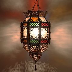 Fancy Marokkanische Lampe orientalische DECKENLAMPE Lampen Late https amazon