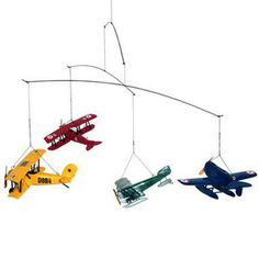Authentic Models Flight 1920 Airplane Hanging Mobile | eBay