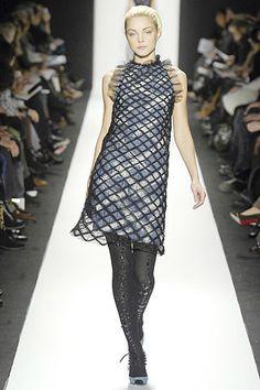 Carolina Herrera Fall 2007 Ready-to-Wear Fashion Show - Coco Rocha