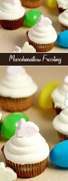 A fun spin on buttercream with marshmallow creme, making simple, sticky, and candy recipes. Perfect your favorite cupcake. Candy Recipes, Cupcake Recipes, Sweet Recipes, Dessert Recipes, Dessert Ideas, Breakfast Recipes, Bar Recipes, Dinner Recipes, Healthy Recipes