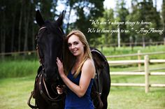 """""""We don't whisper things to horses. We let them speak to us."""" -Amy Fleming"""