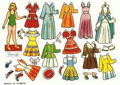 muñecas recortables, paper dolls, Бумажные куклы , bambole da carta, poupées en papier, 纸娃娃 , - merimartinez1 - Picasa Webalbum