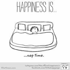 I love taking a nap
