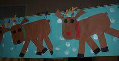 Reindeer and Reindeer book freebie