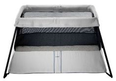 BABYBJORN Travel Crib Light - Silver -   - http://babyentry.com/baby/gear/activity-centers-entertainers/babybjorn-travel-crib-light-silver-com/