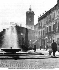 Plaça del Angel.