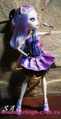 Платье для куклы Monster High «Purple Star» Dress Pattern| Monster High Club