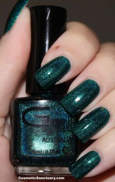 Glitter Gal - Teal Green
